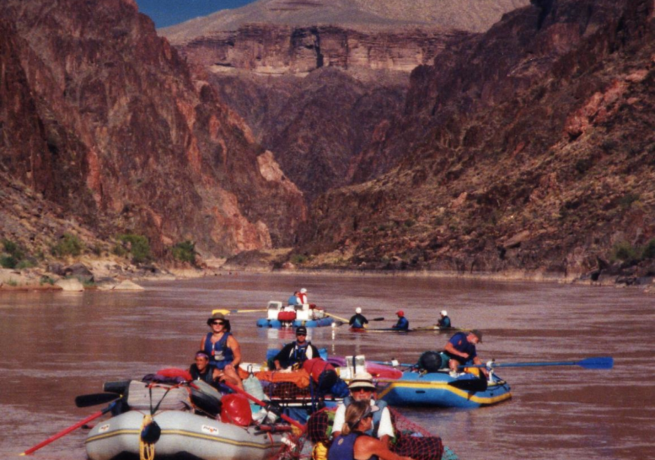 Grand  Canyon Raft line-up