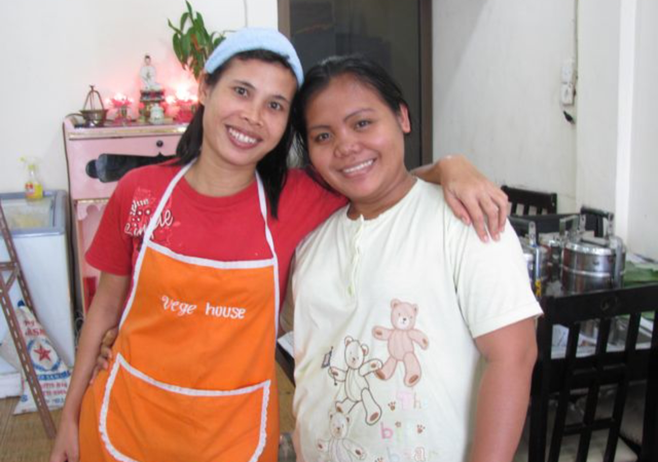 Cooks at Vege House