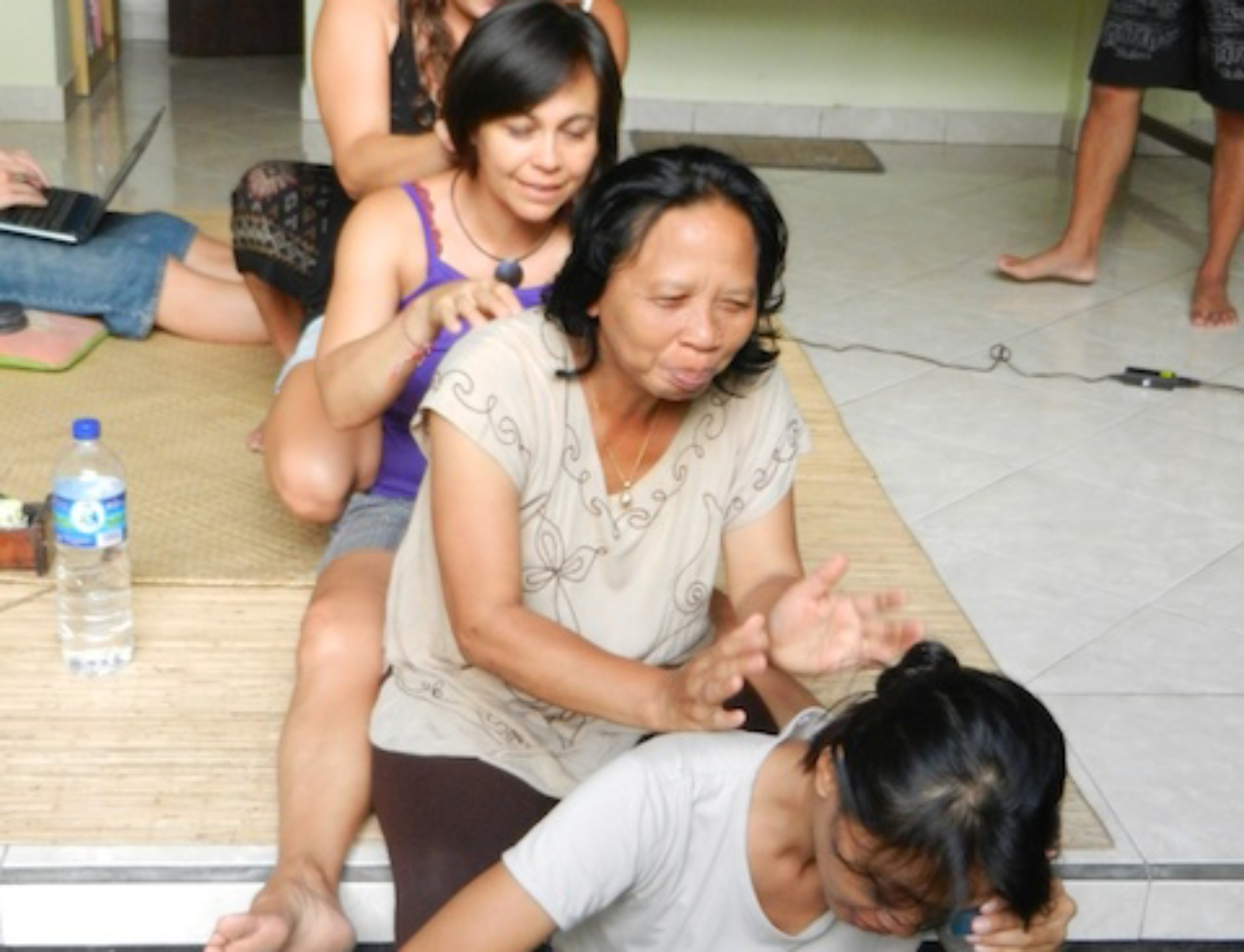 Massage line on Nyepi