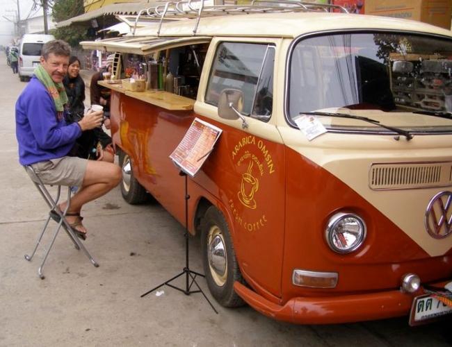 Favorite morning coffee stop Pai