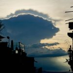 """""""Oso"""", the bear in the clouds."""